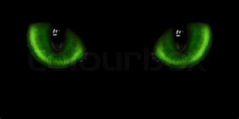 green cat eyes stock photo colourbox