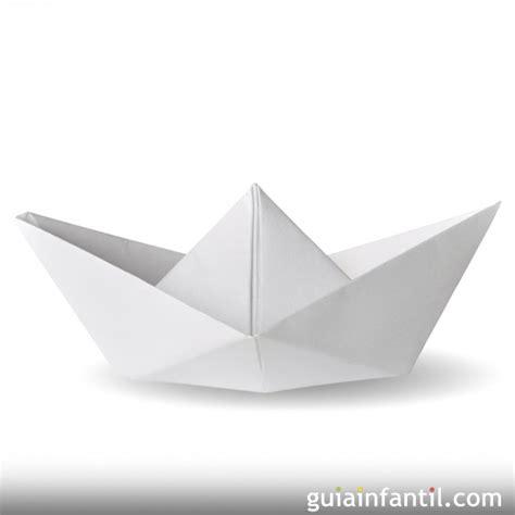 Imagenes De Barcos En Papel by Hacer Un Barco De Papel Origami Para Ni 241 Os