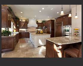 Kitchen Island Cherry Wood Richly Detailed U Shaped Kitchen Centers Wood Cabinetry Around Large White Painted Wood
