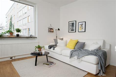 Minimalistische Einrichtung Des Kinderzimmersminimalist Modern Style White Yellow Bedroom Ideas 2 by Helles Gem 252 Tlich M 246 Bliertes Apartment In G 246 Teborg