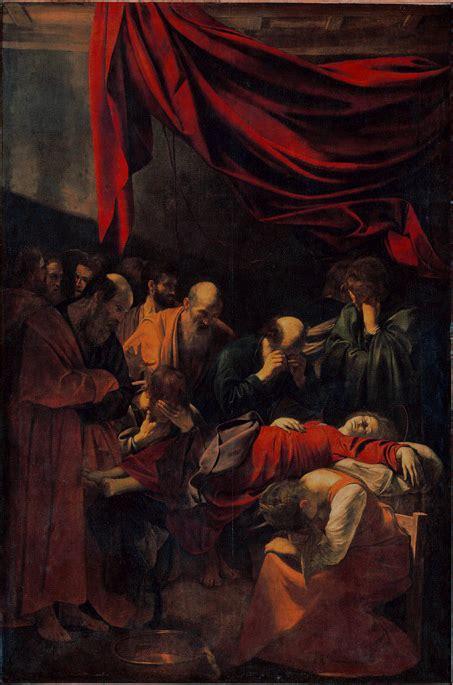 La Morte In by La Mort De La Vierge Le Caravage Wikip 233 Dia