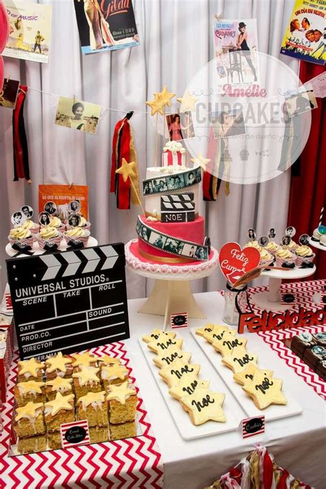 fantastic hollywood  birthday party   party
