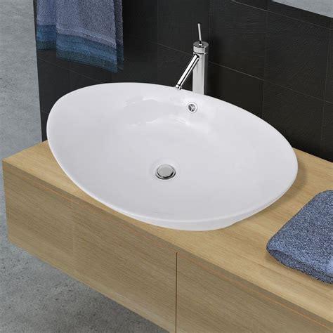 Badezimmer Deko Keramik by Keramik Waschtisch Waschbecken Aufsatzbecken Waschplatz