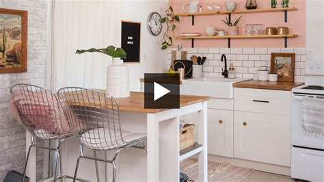 Tiny Masculine Apartment On A Budget by How To Renovate A Tiny Apartment Kitchen On A Budget