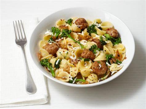 pasta  turkey meatballs recipe food network kitchen