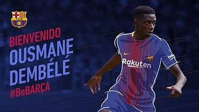 Barcelona Dortmund Football Confirmed Dembele Winger Deal