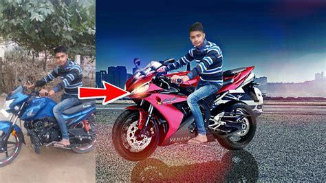 bike background picsart editing tutorial bike change cb editing picsart
