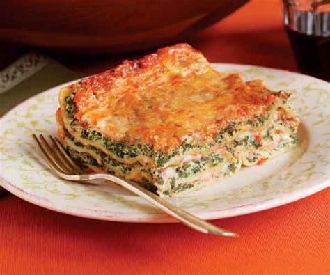 spinach ricotta lasagne recipe finecooking