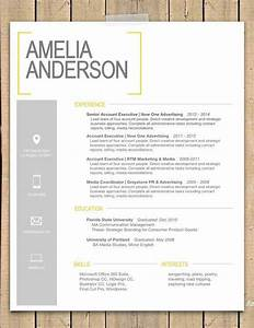 Ms Office Presentation Templates Super Cute Resume Design Yellow Bracket Resume