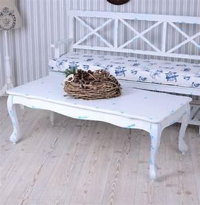 Beistelltisch Weiß Landhaus : couchtisch weiss beistelltisch coffeetable landhaus tisch ~ Watch28wear.com Haus und Dekorationen