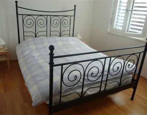 lovely ikea black metal bed frame