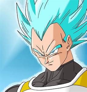 Vegeta (Super Saiyan God Super Saiyan) by ...