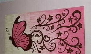 Einfache Bilder Malen : auf leinwand malen 37 originelle einfache ideen mit anleitung ~ Eleganceandgraceweddings.com Haus und Dekorationen
