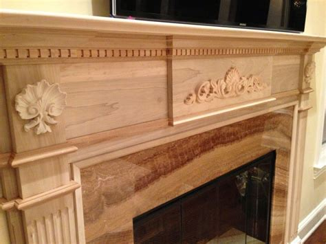 wood onlays fireplace  architectural depot