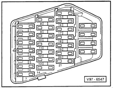 1996 Audi Fuse Box by 1996 Audi Fuse Box Diagram Wiring Diagram