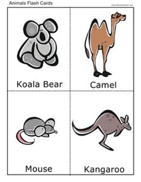 farm animal flash cards printable science pinterest