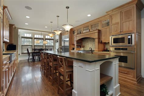 galley style kitchen with island 22 luxury galley kitchen design ideas pictures