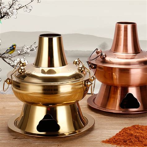 copper cookware pot chinese steamer cooker fondue stainless cooking china steel metal kitchen tools