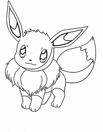 Pokemon Coloring Pages Eevee Everything