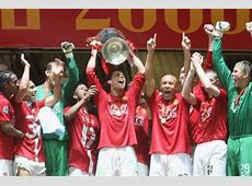 Winning Champions League with Manchester United was my