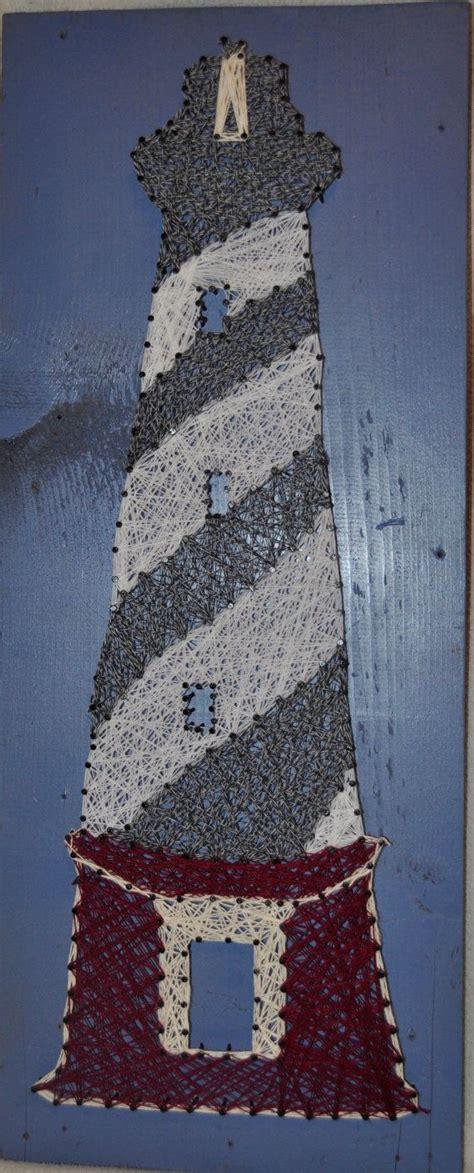 cape hatteras lighthouse string art  smalltownstrings