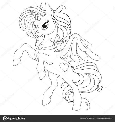 Kleurplaat Paard Met Vleugels by Boek Kleurplaat Eenhoorn Fabelachtig Een Paard Met