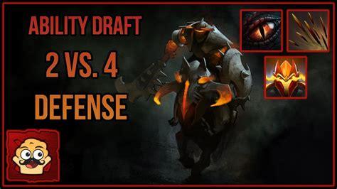 dota  ability draft dark dragon knight youtube