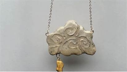 Mosaic Making Lightning Cloud Necklace Handmade Google