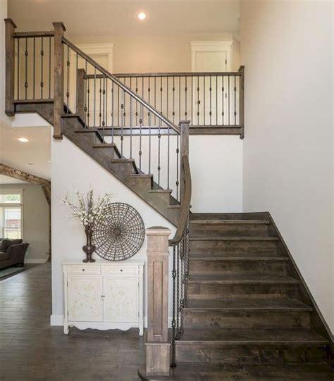 modern farmhouse staircase decor ideas