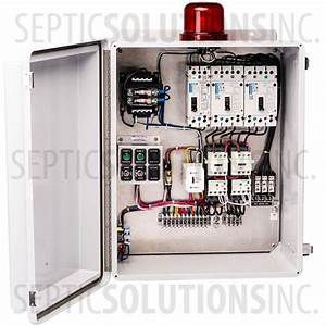 Spi Model Sdc3b240 Three Phase Duplex Control Panel