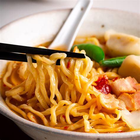 minute bacon dumpling noodle soup marions kitchen
