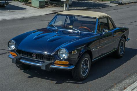 1974 Fiat 124 Spider by 1974 Fiat 124 Spider 1800 Manual Convertible Dohc For