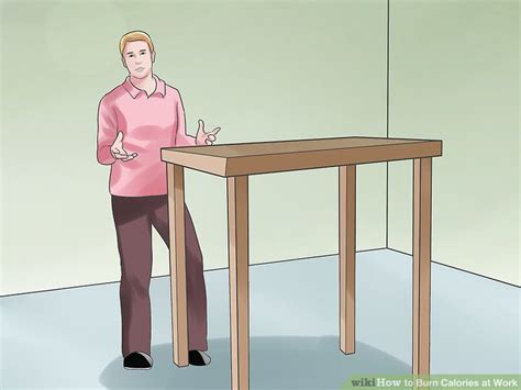 burn calories at your desk how to burn calories at work 13 steps with pictures