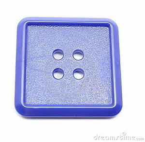 Blue Square Plastic Button Royalty Free Stock Photography ...