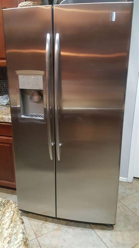 side  side ge refrigerator  cu ft  sale  goodyear az offerup