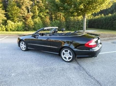 17 city / 25 hwy. Purchase used 2009 Mercedes-Benz CLK350 Base Convertible 2 ...