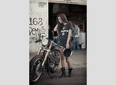 Mercenary Garage XS650 Girl