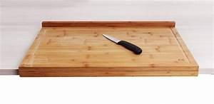 Plan De Travail Bambou : planche de travail en bambou grand mod le avec rebord ~ Melissatoandfro.com Idées de Décoration