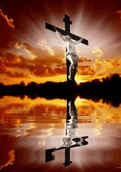 Jesus Spiritual Cross Christ Phone Animated Christian