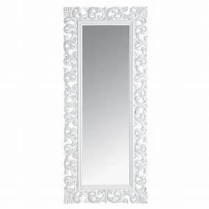 Miroir Fenetre Maison Du Monde : miroir rivoli blanc 80x190 miroir maisons du monde decofinder ~ Teatrodelosmanantiales.com Idées de Décoration