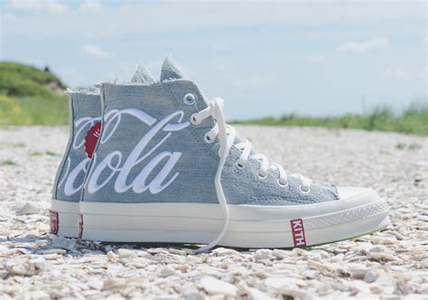 kith  coca cola  converse chuck  releasing  august