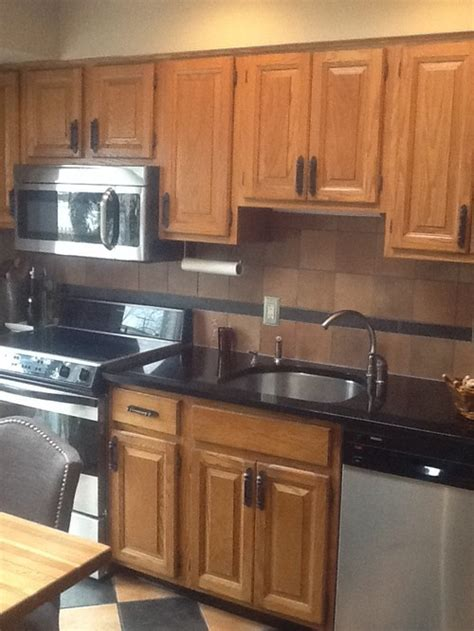 backsplashes in kitchens pictures these recent retires want to freshen up kitchen 4286