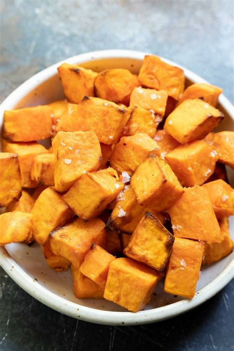 fryer air sweet potatoes recipes potato tasty tastyairfryerrecipes chunks dishes recipe healthy fried rice cooking dessert side dish roasted oven