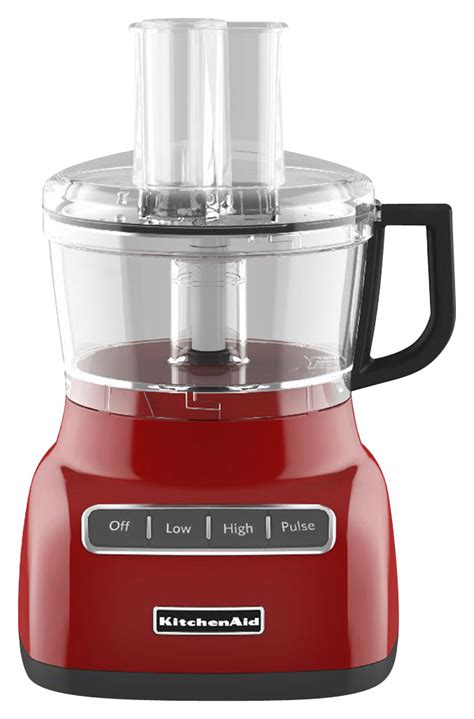 Kitchenaid Food Processor Attachment Best Buy by Kitchenaid 7 Cup Food Processor Kfp0711er Best Buy