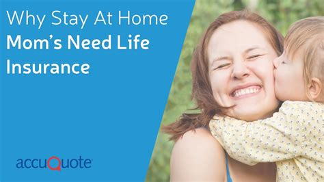 Why Stay-at-Home Moms NEED Life Insurance - YouTube