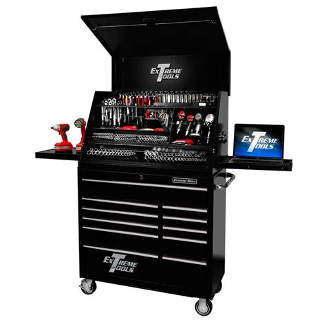 Gladiator Mobile Storage Cabinet by Extreme Tools 41 Quot Deluxe Portable Workstation And Roller