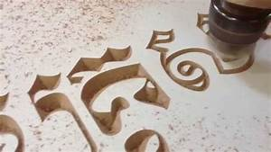 cnc router 6090 engraving khmer letter with v bit knife With cnc letters