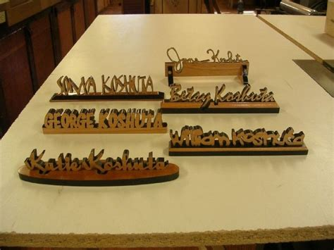 desk name plate designs hand crafted personalized desk name plates by larue