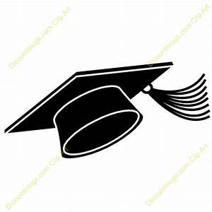 Graduation Cap Clipart in Black And White – 101 Clip Art
