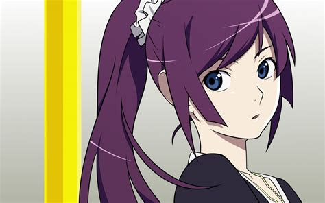 Anime Series Wallpaper - anime monogatari series senjougahara hitagi wallpapers